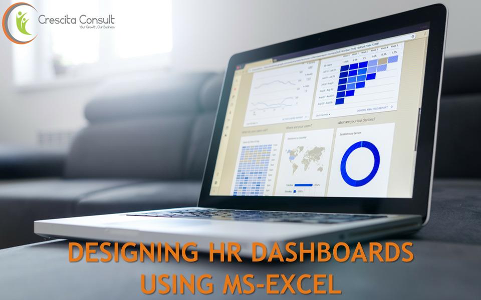 Designing HR Dashboard Using MS-Excel - Crescita Consult
