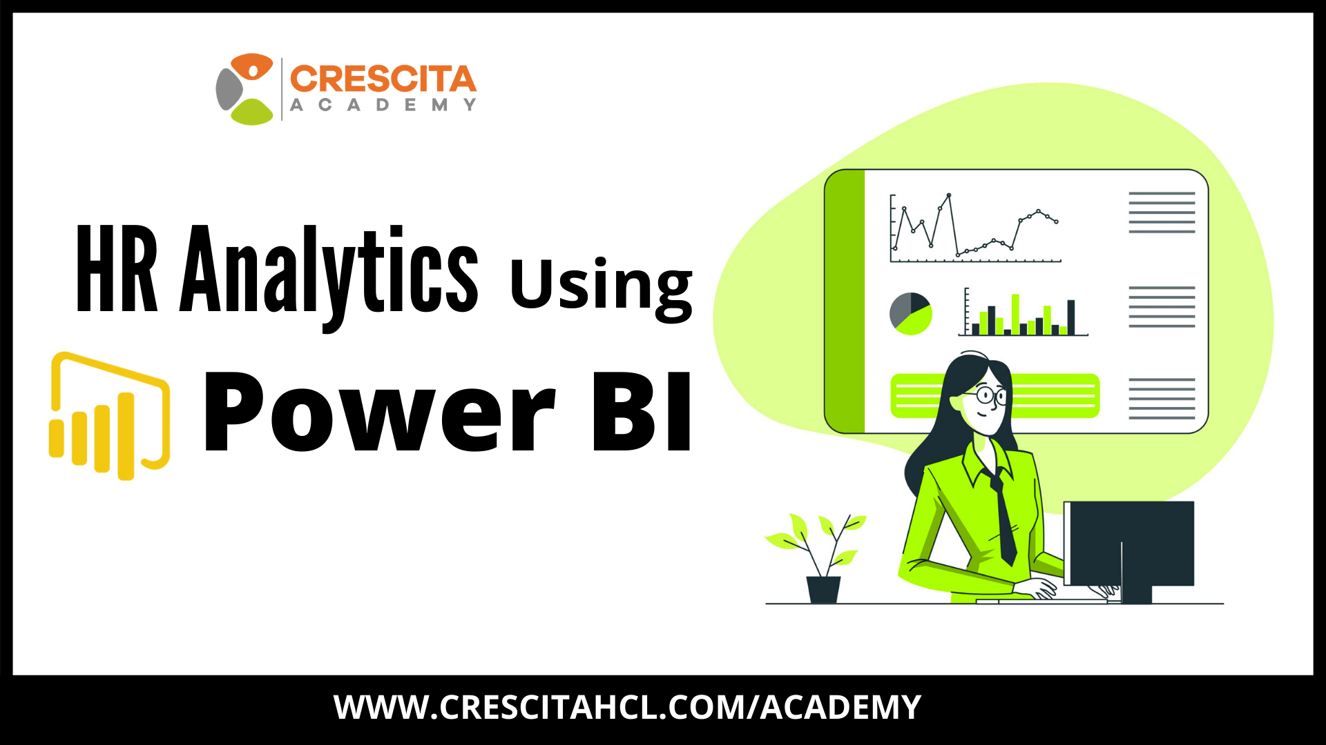 Power BI-HR Analytics - Course - Cover Slide